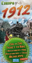 Ticket to Ride Europa 1912