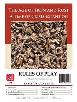 time of crisis age of iron and rust