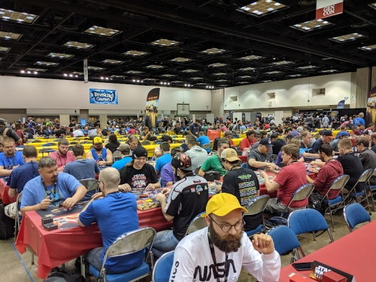 Gen Con crowd playing