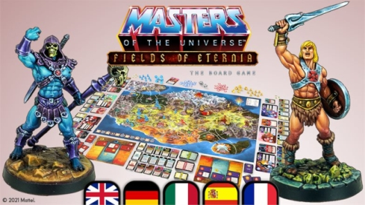 Masters of the universe boardgame