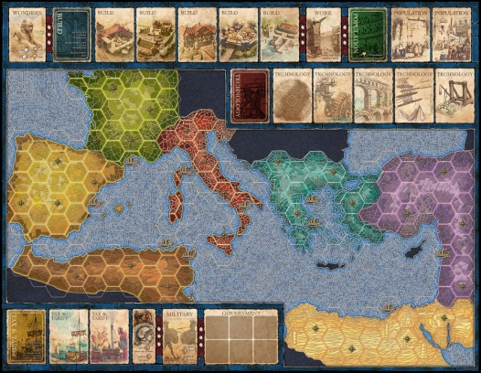 Mosaic - A Story of Civilizzation - Tabellone