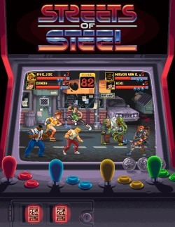 Streets of Steel - Insert coin to begin