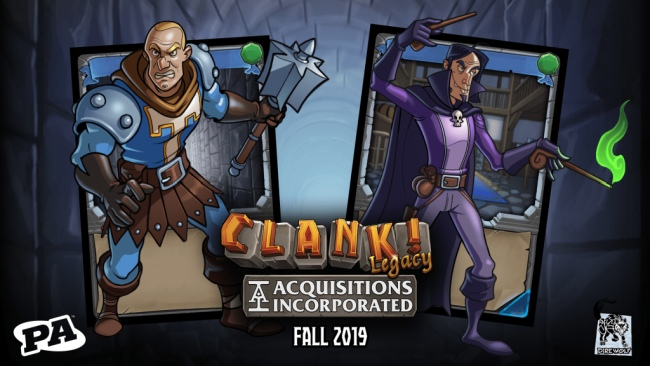 Clank! Legacy: Acquisitions Incorporated - Penny Arcade incontra il deckbuilding